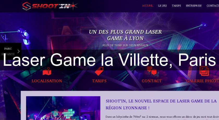 Laser Game La Villette Paris Loisirs En Famille