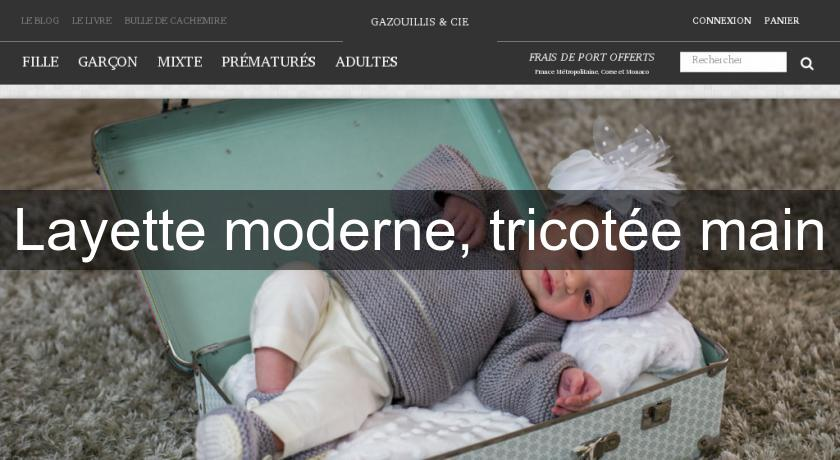 Bonnet de Naissance pour Bébé  Fait Main en Laine Deluxe Merinos Cachemire Soie