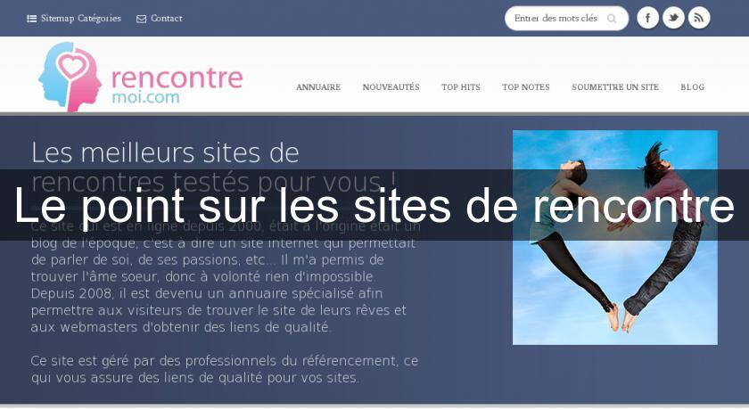 Le point sur les sites de rencontre