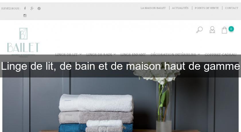 linge de lit de bain et de maison haut de gamme textile soie. Black Bedroom Furniture Sets. Home Design Ideas