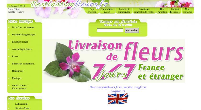 Livraison de fleurs 7 7 france tranger fleuriste for Service livraison fleurs