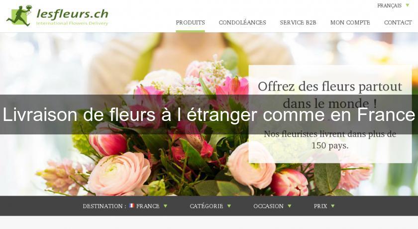 site livraison de fleurs