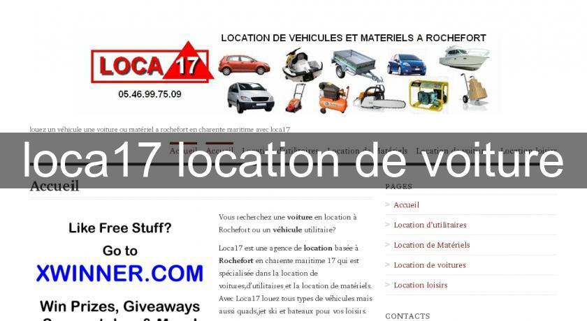 Agence de location voiture paris 17 for Agence de location