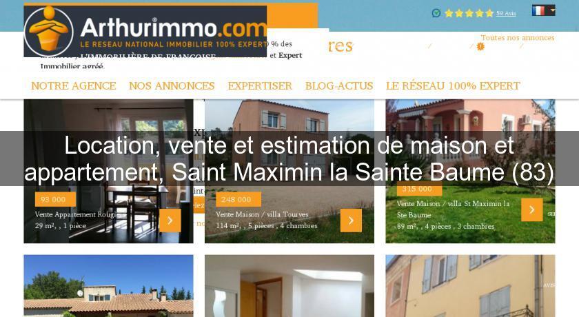 Location vente et estimation de maison et appartement for Site vente de maison