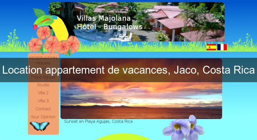 location appartement de vacances jaco costa rica location villa maison. Black Bedroom Furniture Sets. Home Design Ideas