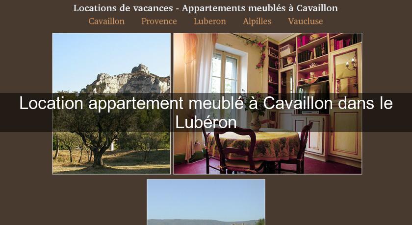 Location Appartement Meublé À Cavaillon Dans Le Lubéron Marseille