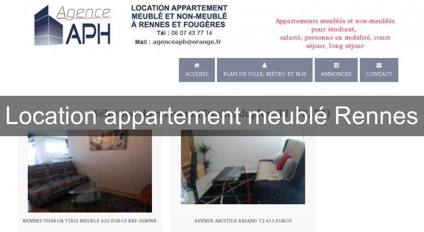 Location Appartement Meuble Rennes Brest Bretagne