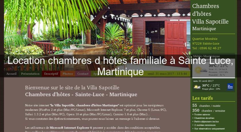 Chambre D Hote Sainte Luce Martinique  PindexCo  Ides Et Images