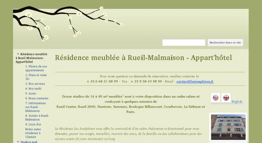 Location Courte Durée En Appartement Meublé Sur Rueil Malmaison (92) Paris