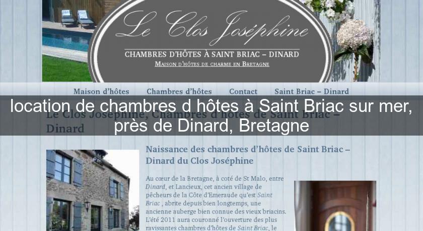 Location De Chambres D Hotes A Saint Briac Sur Mer Pres De Dinard