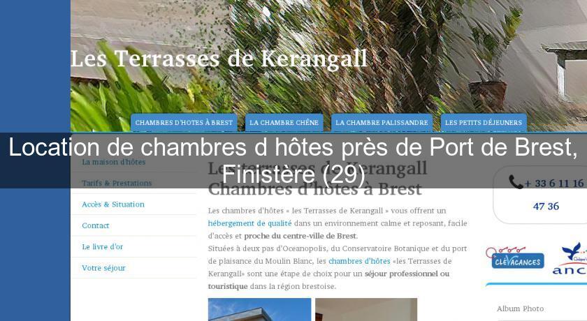 Location De Chambres D Hotes Pres De Port De Brest Finistere 29