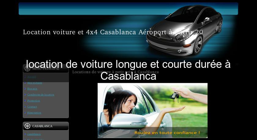 location de voiture longue et courte dur e casablanca location voiture v hicule. Black Bedroom Furniture Sets. Home Design Ideas