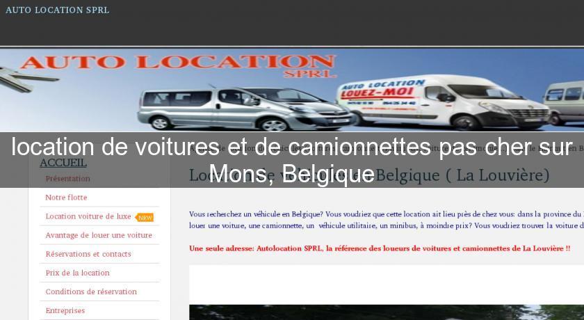 location de voitures et de camionnettes pas cher sur mons belgique location voiture v hicule. Black Bedroom Furniture Sets. Home Design Ideas