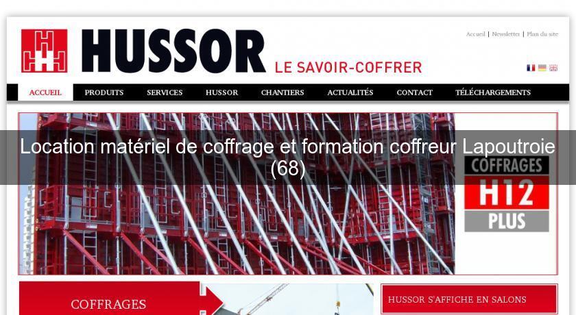 Location mat riel de coffrage et formation coffreur - Location materiel de cuisine professionnel ...