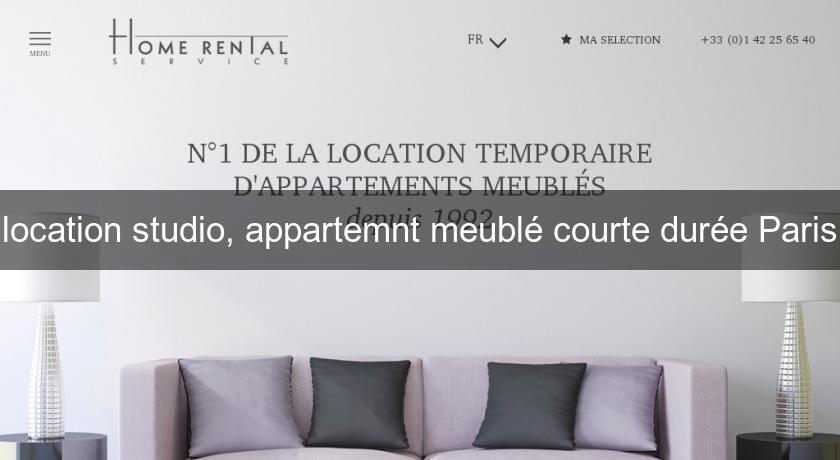 Marvelous Location Studio, Appartemnt Meublé Courte Durée Paris Paris
