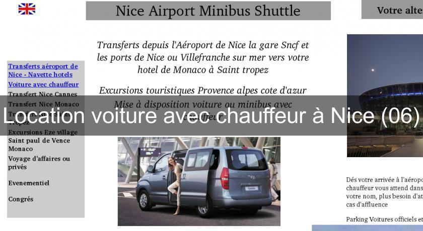 Location minibus 06