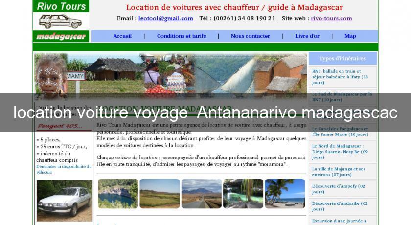 location voiture voyage antananarivo madagascac location voiture v hicule. Black Bedroom Furniture Sets. Home Design Ideas