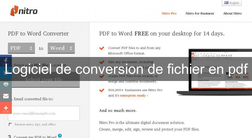 convertir fichier word en pdf gratuit en ligne