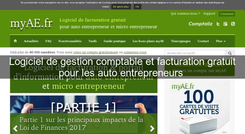 Cuisine Logiciel De Gestion Comptable Et Facturation Gratuit Pour Les Auto Entrepreneurs Logiciels