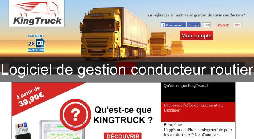 logiciel kingtruck