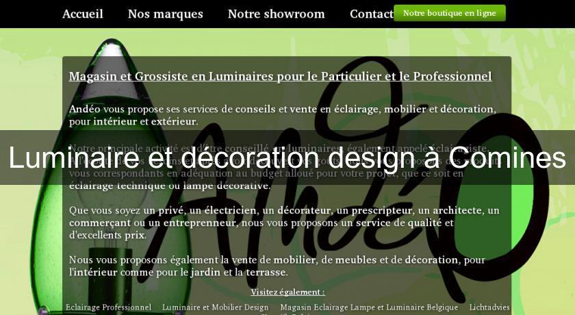 Luminaire et décoration design à Comines Décoration intérieure