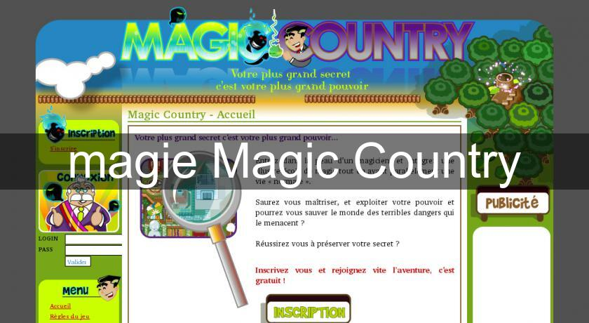 magie Magic Country