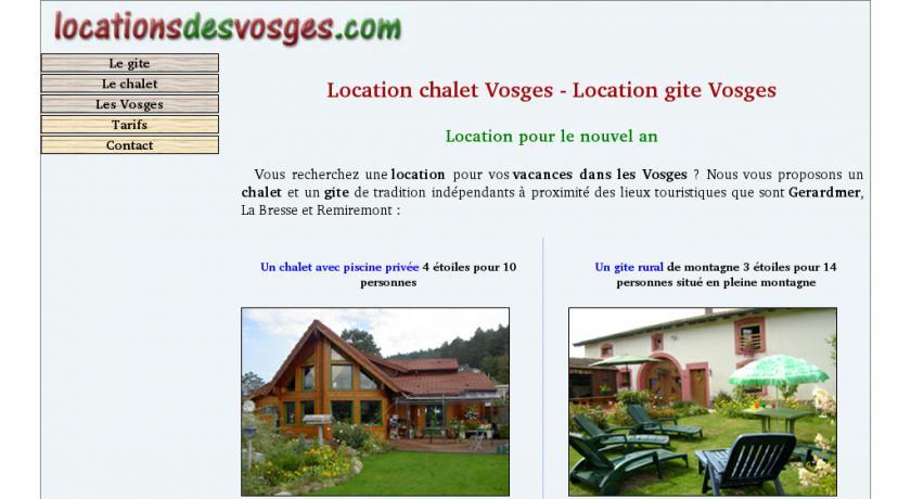 2ade204d9ff Site   Magnifiques Chalet Et Ferme En Location Saisonnière Dans Les Vosges