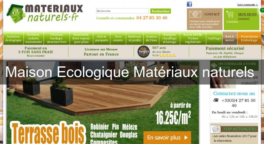 maison ecologique mat riaux naturels mat riel bricolage. Black Bedroom Furniture Sets. Home Design Ideas