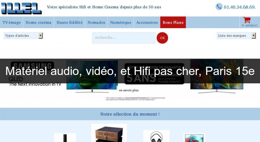 mat riel audio vid o et hifi pas cher paris 15e home cin ma. Black Bedroom Furniture Sets. Home Design Ideas