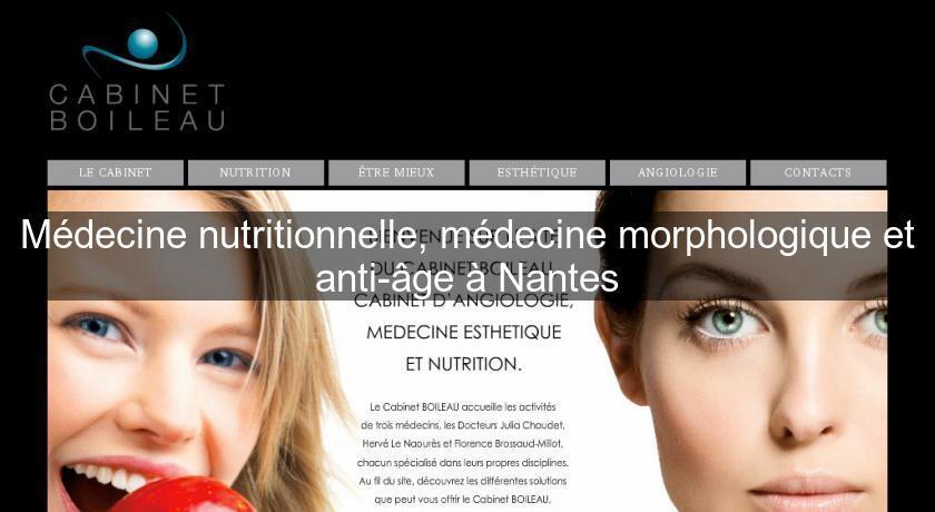 M decine nutritionnelle m decine morphologique et anti - Salon esthetique nantes ...