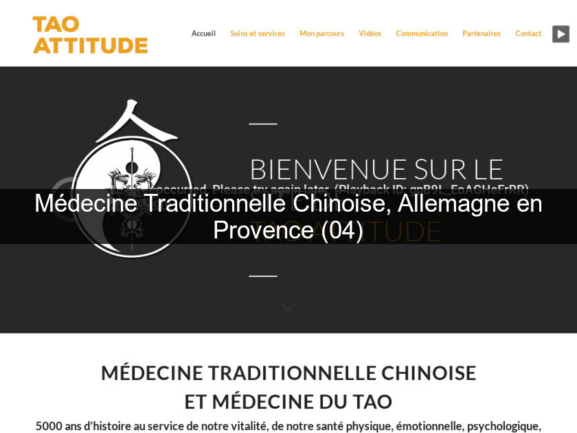 Médecine Traditionnelle Chinoise, Allemagne en Provence (04)