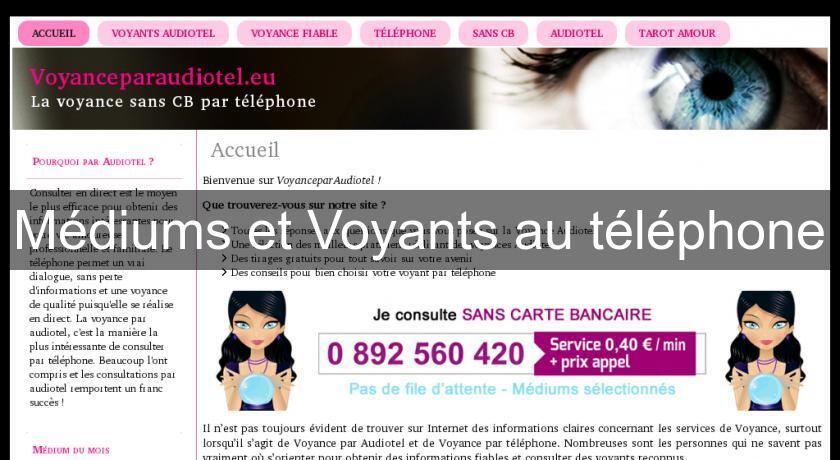 7dd3076a1771ed Médiums et Voyants au téléphone Voyance