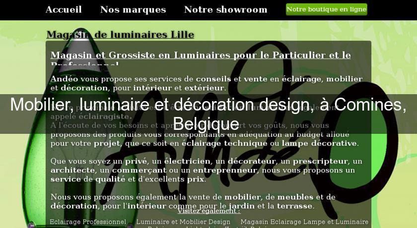 Magasin luminaire design belgique - Magasin de meubles en belgique mouscron ...