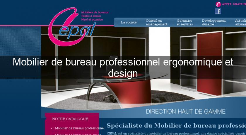 Mobilier de bureau professionnel ergonomique et design mobilier bureau