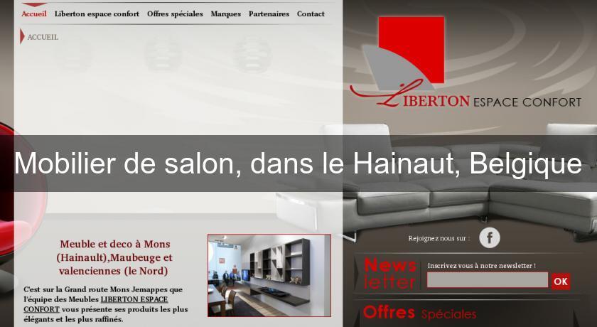 Mobilier de salon dans le hainaut belgique salon et for Mobilier salon