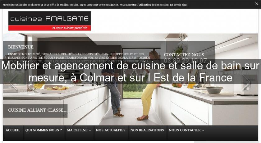 Mobilier et agencement de cuisine et salle de bain sur for Agencement cuisine france