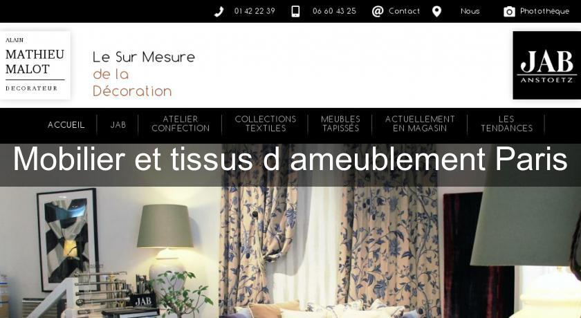 Mobilier Et Tissus D Ameublement Paris Mobilier Du Monde