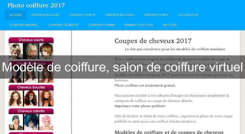 Mod le de coiffure salon de coiffure virtuel coiffure for Annuaire salon de coiffure
