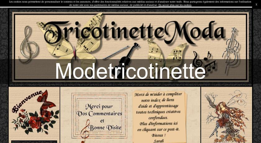 Modetricotinette