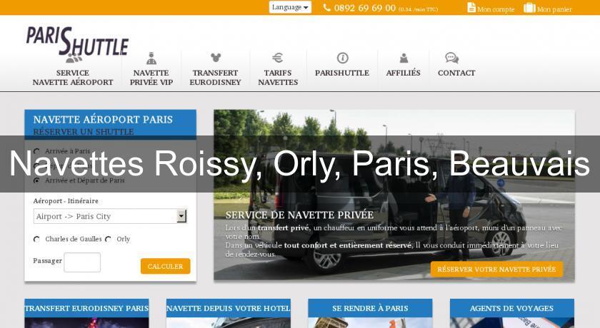 Navettes roissy orly paris beauvais transport - Navette paris porte maillot aeroport de beauvais ...
