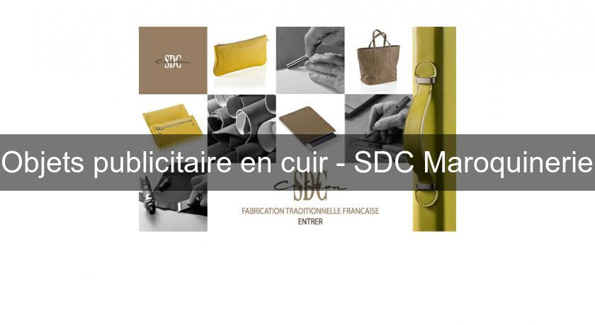 objets publicitaire en cuir sdc maroquinerie publicit. Black Bedroom Furniture Sets. Home Design Ideas