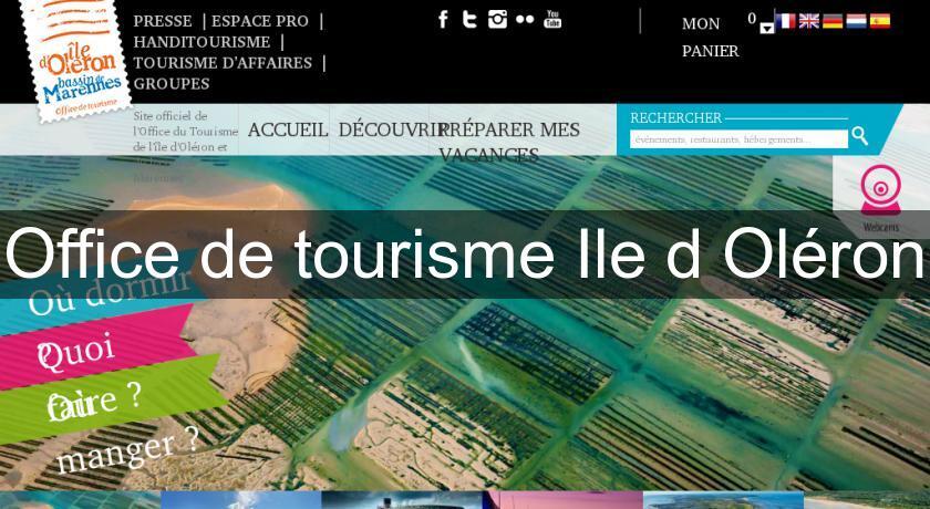 Office de tourisme ile d 39 ol ron office de tourisme - Office du tourisme de l ile d oleron ...