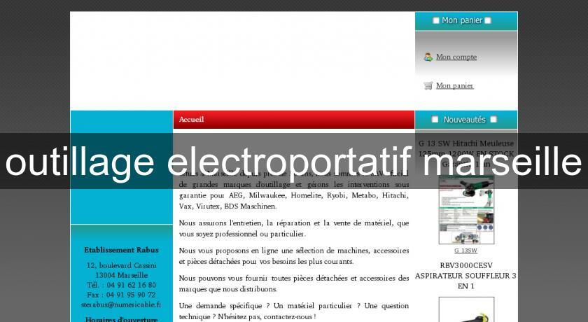 outillage electroportatif site