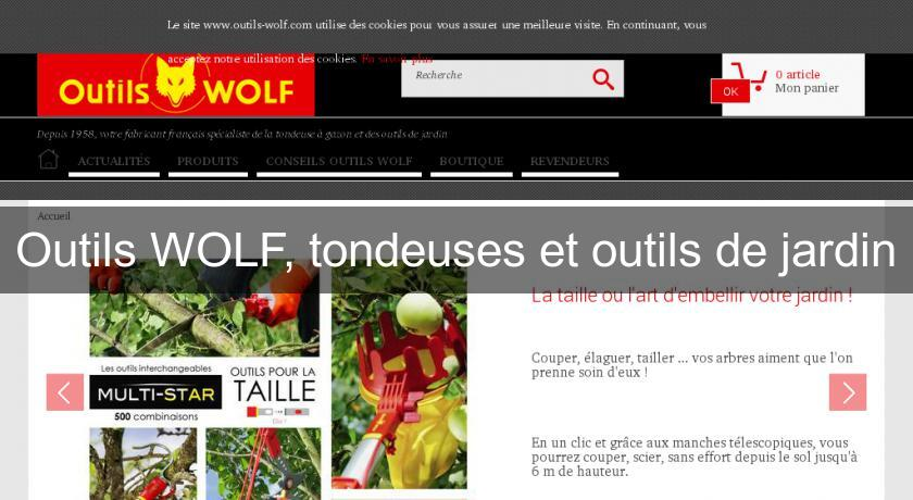 Outils wolf tondeuses et outils de jardin tondeuse - Outils de jardin wolf ...