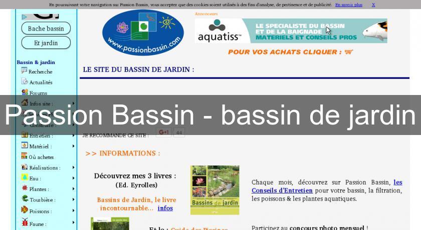 Passion Bassin - bassin de jardin Bassin de jardin