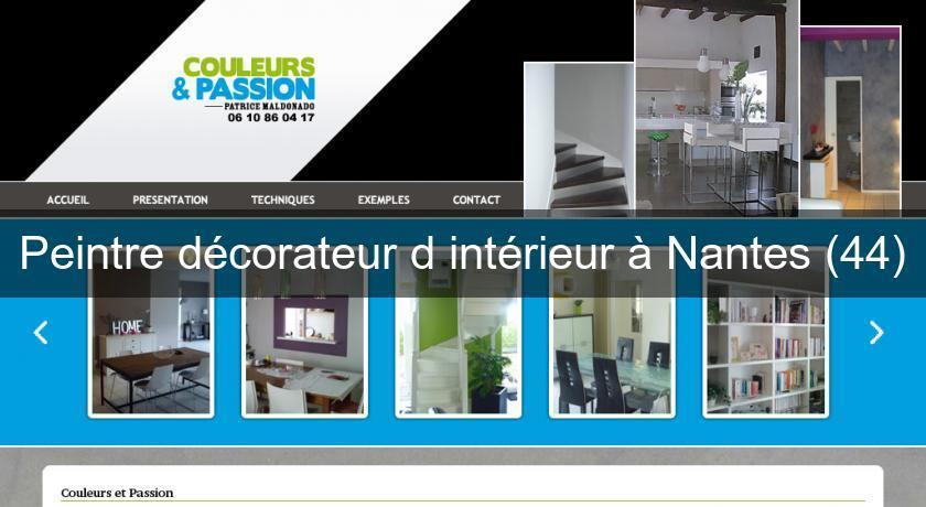 peintre d corateur d 39 int rieur nantes 44 peintre. Black Bedroom Furniture Sets. Home Design Ideas