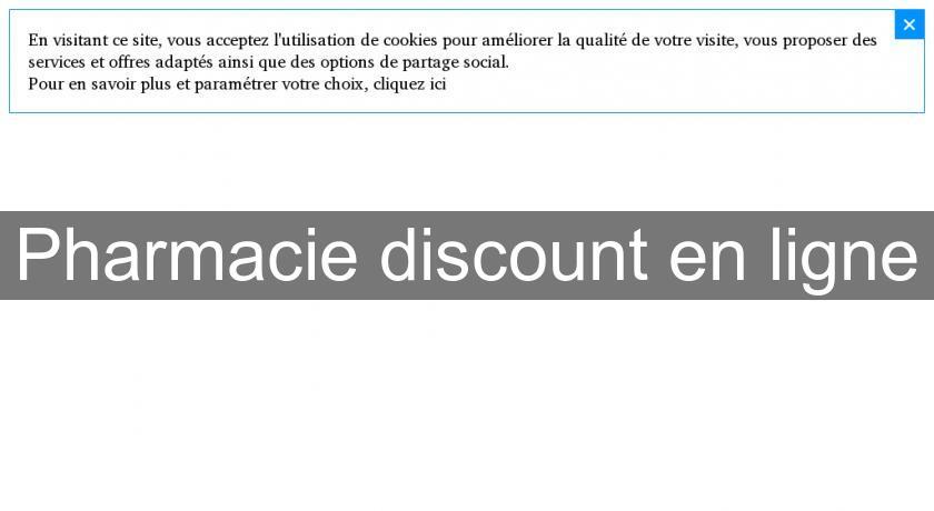 pharmacie discount en ligne