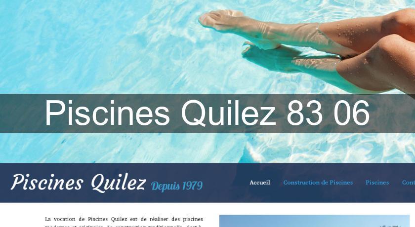 Piscines quilez 83 06 fabricant piscine for Fabricant piscine