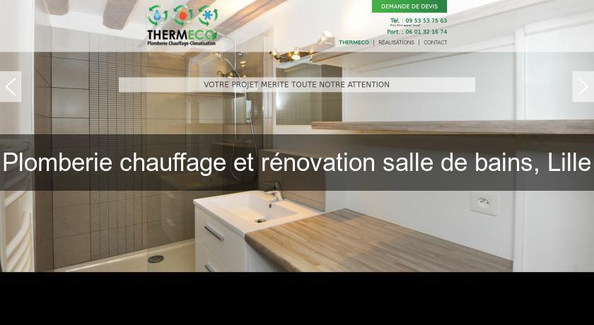 plomberie chauffage et r novation salle de bains lille plombier. Black Bedroom Furniture Sets. Home Design Ideas