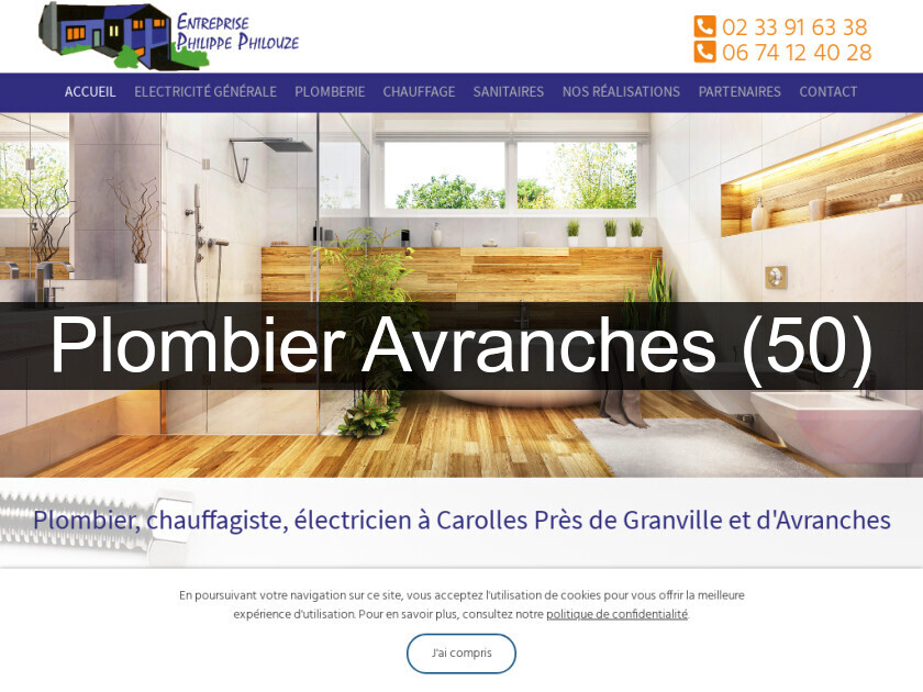Plombier Avranches (50)